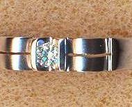 ALR11217 18KW diamond 0.09ct ring