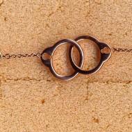 RB027R silver/CZ bracelet