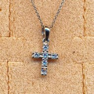 RN1120 silver/CZ necklace