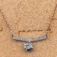 BN29068 18KWR 0.22ct diamond necklace
